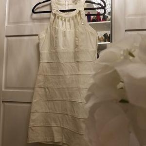 White body con dress